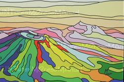 l`atelier du pouzadoux auvergne peinture artistique toile tableau acrylique huile figuratif abstrait contemporain moderne Moreso Manuel artiste peintre Auvergne Puy de Dôme