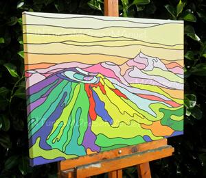 l`atelier du pouzadoux auvergne peinture artistique toile tableau acrylique huile figuratif abstrait contemporain moderne Moreso Manuel artiste peintre Auvergne Puy de D�me