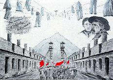 atelier du pouzadoux auvergne vannerie peinture artistique corons mineurs nord