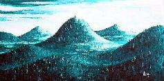 l`atelier du pouzadoux auvergne peinture tableau toile acrylique paysage auvergne volcans chaine des puys puy de dome